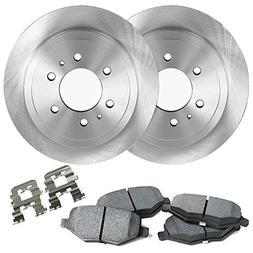 "Detroit Axle - 12""  6-Lug Front Brake Rotors & Ceramic Pads"