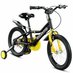 """12"""" Kids Bicycle Outdoor Sports Bike W/ Training Wheel Brake"""