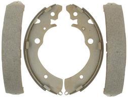 ACDelco 14627B Advantage Bonded Rear Brake Shoe Set