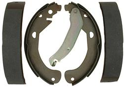 ACDelco 14795B Advantage Bonded Rear Brake Shoe Set with Lev