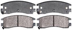 ACDelco 14D714MH Advantage Semi-Metallic Rear Disc Brake Pad