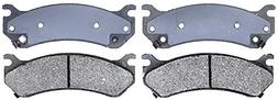 ACDelco 14D785CH Advantage Rear Ceramic Disc Brake Pad Set