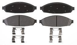 ACDelco 14D931CH Advantage Ceramic Front Disc Brake Pad Set