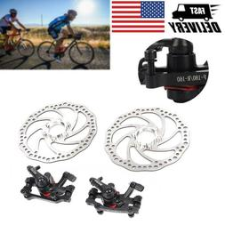 1pair bicycle disc brakes front and rear