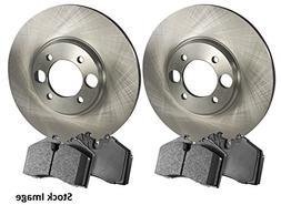2003 For Mazda MPV Front Disc Brake Rotors and Ceramic Brake