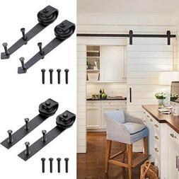 2x Steel Sliding Barn Rollers Replacement for Wood Door Hard