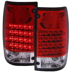 Anzo USA 311043 Toyota Pickup Red/Clear LED Tail Light Assem