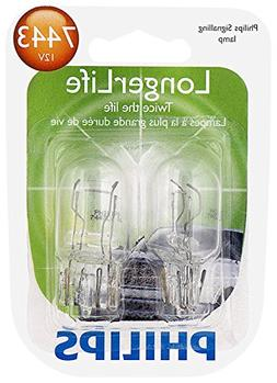 7443 longerlife miniature bulb 2 pack