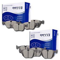 ECCPP 8pcs Full Set Ceramic Disc Brake Pad Kit for 2001-2006