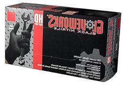AMMEX - GWBN48100-BX - Nitrile Gloves - Gloveworks - HD, Dis