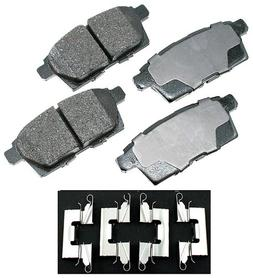 Akebono ACT1259 ProACT Ultra-Premium Ceramic Brake Pad Set