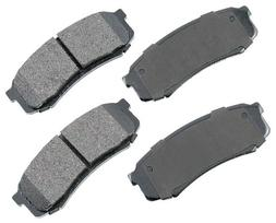 Akebono ACT606 ProACT Ultra-Premium Ceramic Brake Pad Set