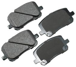 Akebono ACT923 ProACT Ultra-Premium Ceramic Brake Pad Set