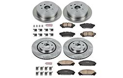 Autospecialty  Daily Driver OE Brake Kit, Front and Rear