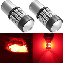 Alla Lighting BAY15D 7528 1157 LED Strobe Brake Lights Bulbs