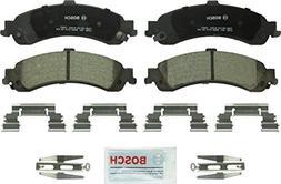 Bosch BC834 QuietCast Premium Ceramic Rear Disc Brake Pad Se