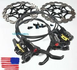 Bike Brake lever Calipers Hydraulic Disc Brakes Levers 160 R