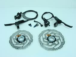 Shimano BR-M315 Hydraulic Disc Brakes set Front 180 mm; Rear