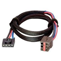 Tekonsha Brake Control Wiring Adapter - 2 Plug, Ford, Lincol