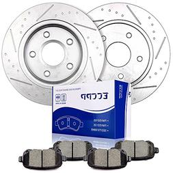 brake kits rear slotted discs brake rotors