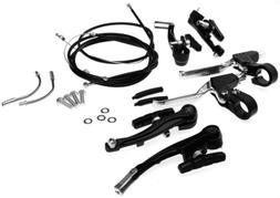 Brake Levers V Brakes Cables Caliper Kit For BMX Mountain Bi