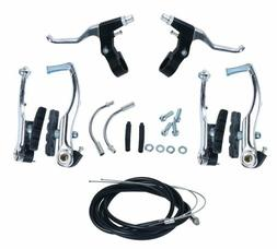 "Brake Levers V Cables Caliper Set for Mountain Road 24"", 26"""