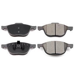 Brake Pads,ECCPP 4pcs Front Ceramic Disc Brake Pads Kits for