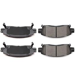 brake pads 4pcs rear ceramic disc brake