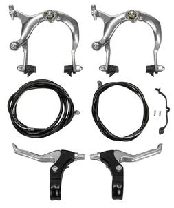 Sunlite Brakeset, MX Side Pull Set, Pair, 69-96mm, Silver