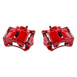 CCK01550  FRONT Performance Grade Red Powder Coated Semi-Loa