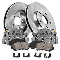 CCK02109 FRONT Original  Calipers +  OE Rotors + Low Dust  C