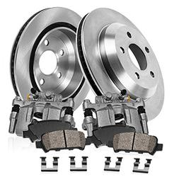 CCK02594  REAR Original Calipers +  OE Rotors +  Low Dust Ce