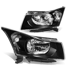 For Chevy Cruze J300 Pair of Black Housing Clear Corner Head