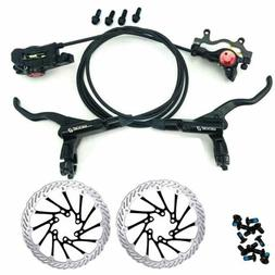 ZOOM Disc Brakes Calipers Bike Hydraulic Brakes Front&Rear +