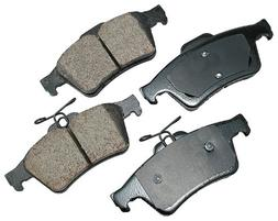 Akebono EUR1095 EURO Ultra-Premium Ceramic Brake Pad Set
