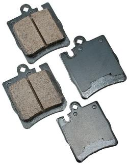 Akebono EUR873 EURO Ultra-Premium Ceramic Rear Brake Pad Set