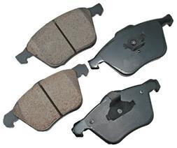 Akebono EUR979 EURO Ultra-Premium Ceramic Front Brake Pad Se