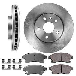 FRONT 276 mm Premium OE 5 Lug  Brake Disc Rotors +  Ceramic