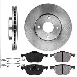 FRONT 278 mm Premium OE 4 Lug  Brake Disc Rotors +  Ceramic