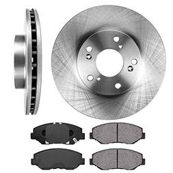 FRONT 282 mm Premium OE 5 Lug  Brake Disc Rotors +  Ceramic