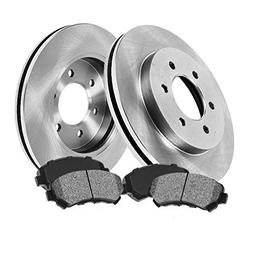 FRONT 305 mm Premium OE 6 Lug  Brake Disc Rotors +  Metallic