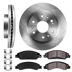 FRONT 330 mm Premium OE 6 Lug  Brake Disc Rotors +  Ceramic