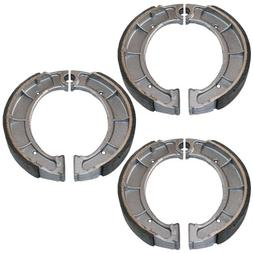 Caltric FRONT & REAR BRAKE SHOES Fits YA