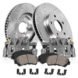 callahan cck03658 front premium brake calipers drilled