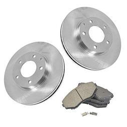 Front Premium Posi Ceramic Disc Brake Pad & Rotor Kit for Ma