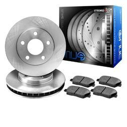 R1 Concepts KEOE11742 Eline Series Replacement Rotors And Ce