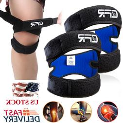 Knee Support Patella Stabilizer Strap Band Tendon Brace Pain