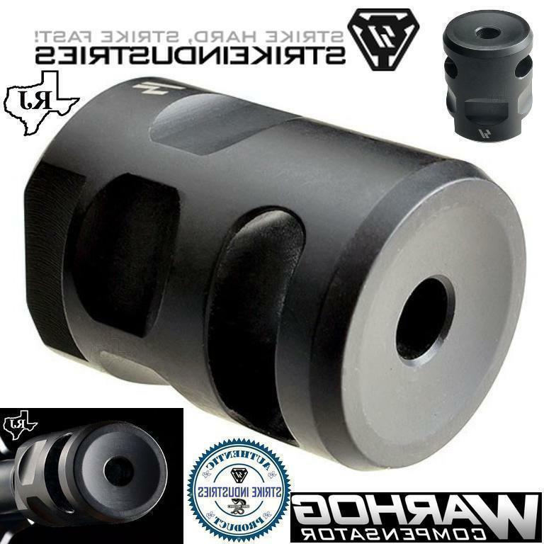 Strike Industries 1/2x28 WarHog Muzzle Compensator Mini Compact