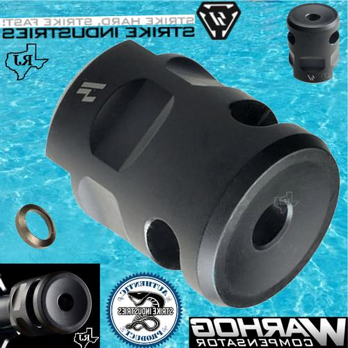 1 2x28 warhog comp muzzle brake cqb