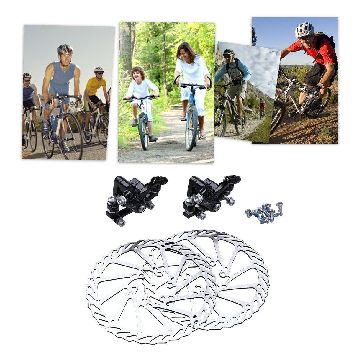 1 Mountain Bicycle Disc Caliper Rotor Rear